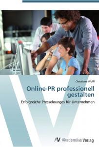 Online PR professionell gestalten - Cover